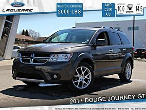 2017 Dodge Journey **GT*AWD*CUIR*BLUETOOTH*CRUISE*A/C 3 ZONES*SI