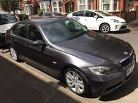 2005 BMW 330i E90 MANUAL SPARKLING GRAPHITE,SAT NAV, BROWN LEATHER PX swap part exchange