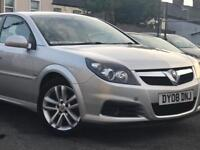 2008 VAUXHALL VECTRA 1.8 SRI BHP 140 5 DOOR 17 INCH SILVER ALLOY WHEELS WITH SERVICE HISTORY 6 STAMP
