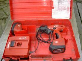 Hilti SF150-A Cordless Drill Kit.
