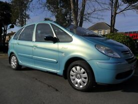 CITROEN XSARA PICASSO 2004 1.6 HDI DIESEL FSH 8 STAMPS INC CAMBELT NEW 12 MONTHS M.O.T HPI CLEAR