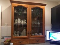 kitchen cupboards, worktops, dishwasher, oven, hob and grill