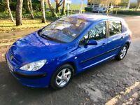 2002 Peugeot 307 LX petrol 1.6 109 BHP - MOT NOV 2018 - HPI Clear - Central Lock - Electric mirrors