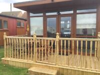 Holiday chalet near beach and attractions