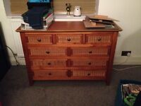 Wardrobe, Drawers & Bedside Cabinet