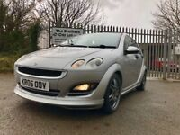2005 SMART FORFOUR BRABUS SILVER