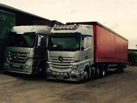 HGV Class 1 driver wanted - tramping - North Notts