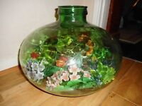 green glass large carboy