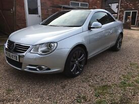 Volkswagen EOS Diesel 2.0 TDI Sport 2dr Convertible,Leather,Aircon,AutoLights,Heated Seats,History