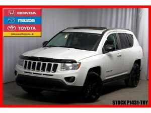2013 Jeep Compass Limited / 4X4 / TOIT OUVRANT / CUIR / GPS