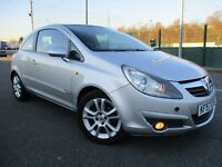 2007 Vauxhall Corsa 1.2 i 16v SXi 3dr - LONG MOT -