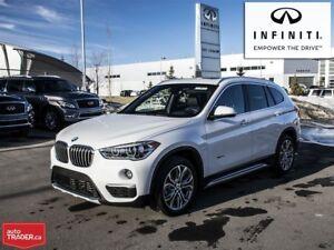 2017 BMW X1 Xdrive28i Premium Enhanced  l  NON-Rental  l  Loca