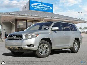 2008 Toyota Highlander V6 Sport LEATHER LOADED WITH NAV DVD