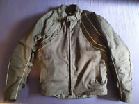 Motorcycle jacket, size M, very good condition