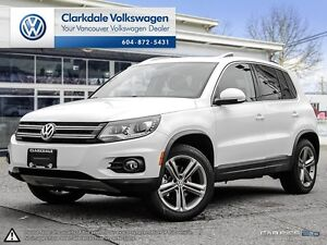 2017 Volkswagen Tiguan 4MOTION 4dr Highline