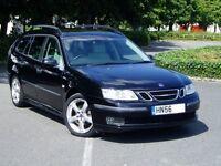 2006 Saab 9-3 Linear Sport Estate 1.9 Tid. 6 Speed. 80000 Miles Only. Mot December. Saab 93 Diesel.
