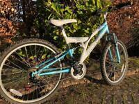 """Girls Salcano Spice 24"""" mountain bike 15"""" frame"""