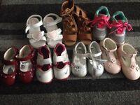 Girls bundle coats 12-18month shoes sizes 4&5
