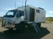 2006 Mitsubishi canter 4x4 camper Two Rocks Wanneroo Area Preview