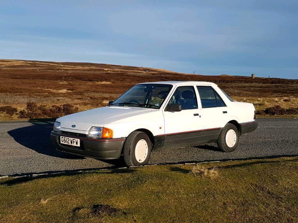 1990 (G reg) Ford Orion. 1.4LX Diamond White