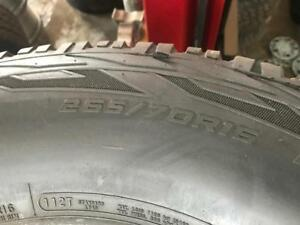 P265/70R16 COOPER DISOVERER A/T SET OF 4 GOOD CONDITION