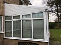 Conservatory White PVC excellent condition !!!! FREE !!!!! only condition buyer dismantles