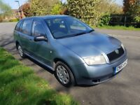 2001 Skoda Fabia 1.4 Estate with long MOT full service history in excellent condition