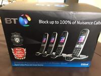 BT8600 landline phone X4 home phone