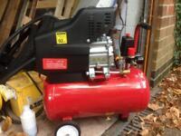 Brand New Powerful 24L Liter litre Air Compressor 9.6CFM 2.5HP 116PSI 8 Bar Portable
