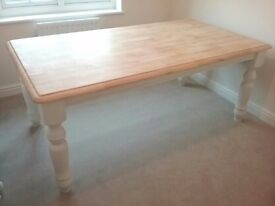 6ft Cottage Style Dining Table