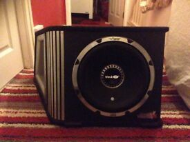 Vibe black air subwoofer 1600watts