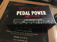 Voodoo labs pedal power 2 +
