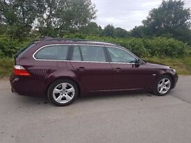 BMW 5 series Estate 2010. Beautiful yet so versatile. Only a few were made in this colour.