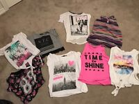Girls Fashion Tops (New Look, H&M, Primark, Kylie,River Island)