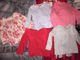 Toddler girls clothes 12-18months