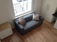 Large double studio with mezzanine. All bills included. Great location in Pimlico near Victoria