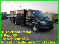 2015 Ford Transit T350 Tire Service Utility Bed Truck air/generator sys liftgate