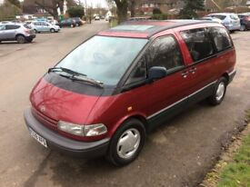 IDEAL EXPORT Toyota Previa 8 seater PETROL AUTOMATIC IDEAL EXPORT 1993