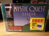 Final Fantasy Mystic Quest Super Nintendo SNES Boxed!
