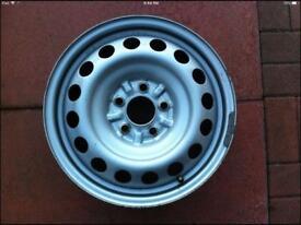 """16"""" steel wheels"""