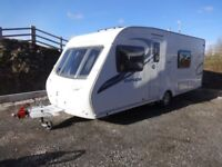 2011 Sterling Europa 550, 4 Berth, Fixed Bed, Motor Mover, End Bathroom, Excellent Condition