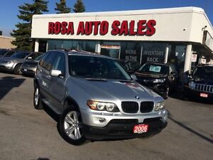 2006 BMW X5 5dr SUV AWD 3.0i PANORAMIC ROOF LEATHER PW PL PM S