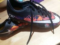 Cr7 football boots size 5
