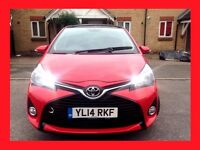 Nearly New --- 2014 Toyota Yaris 1.3 Sport VVT-i -- Low 2300 Miles ONLY -- 5 Door hatchback -- Yaris