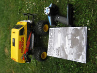tamiya lunch box rc truck with upgrades fully ball raced