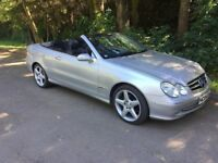 2004 MERCEDES CLK 200 CONVERTIBLE # FULL YEARS MOT # FULL LEATHER INTERIOR # FULL ELECTRIC SOFT TOP