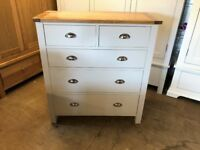 PORTLAND GREY 2+3 Chest of Drawers
