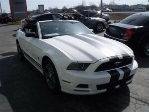 2013 Ford Mustang 10500 KM CONVERTIBLE+ PREMIUM+ AUTOMATIQUE