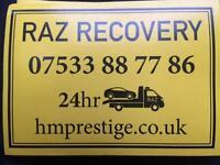 Recovery London 24hrs Breakdown