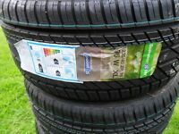 2 x 235 40 18 BRAND NEW POINT S BUDGET TYRES, WITH STICKERS, STILL FOR SALE,KINGSMUIR FORFAR